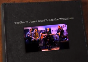 The Kevin Jones' Band Rocks the Woodshed in Oberlin, Ohio!
