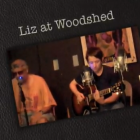 Liz Hogan and Gerald at The Woodshed in Oberlin